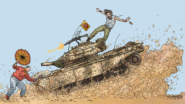 Darrow >> Geof Darrow: Tanks